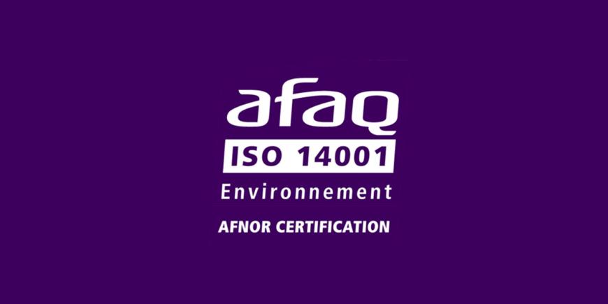 Arkolia Energies certifiée ISO 14001
