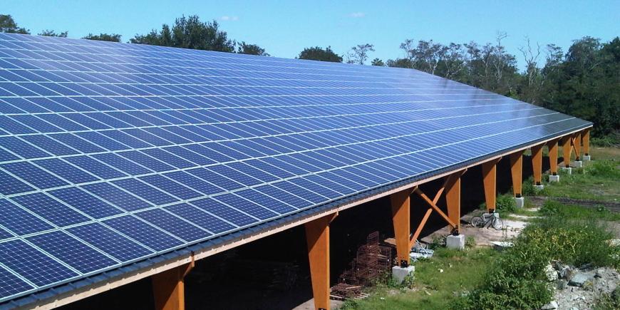 162 hangars agricoles photovoltaïques et 1 centrale solaire au sol prévues pour 2021