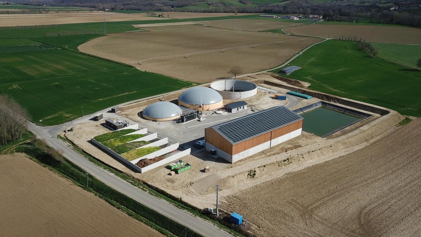 Ariege Biométhane par Arkolia Energies